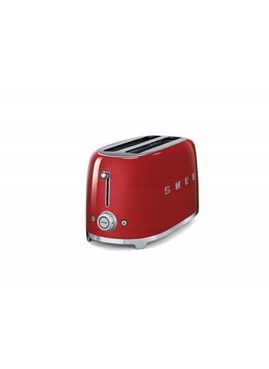 Smeg TSF02RDEU Linea 50's Retro Style Kırmızı Dörtlü Ekmek Kızartma Makinesi Kırmızı